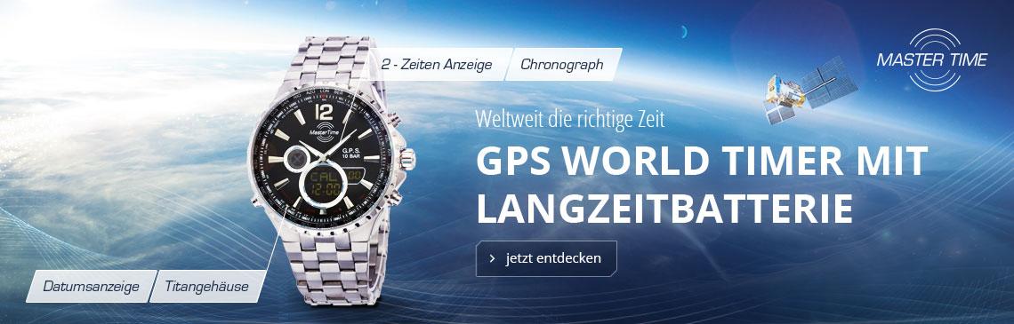 Master Time GPS Satellite Wave
