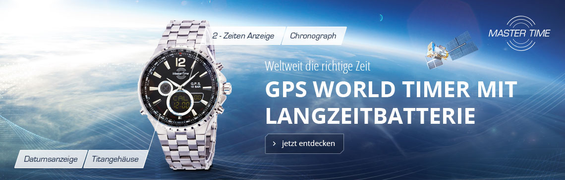 Master Time GPS Satellite Wave