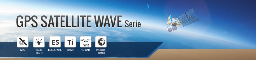 GPS Satellite Wave Serie