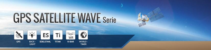 GPS Satellite Wave Serie
