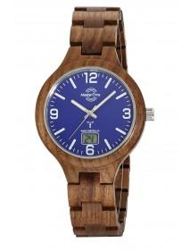 Master Time Funk Specialist Wood  Herrenuhr MTGW-10747-31W