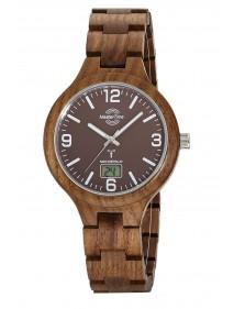 Master Time Funk Specialist Wood  Herrenuhr MTGW-10749-81W