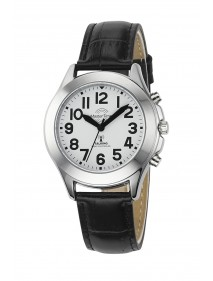 Funk Quarz Damen Sprechende Uhr Metall MTLA-10705-60L