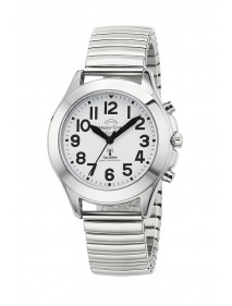 Funk Quarz Damen Sprechende Uhr Metall MTLA-10706-60M