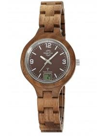 Master Time Funk Specialist Wood  Damenuhr MTLW-10750-81W