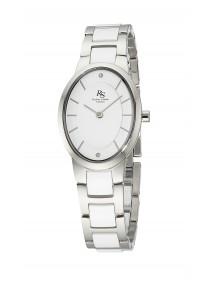 Richter & Söhne Germany Damen Keramik Uhr Oval Time RSLS-60835-40M